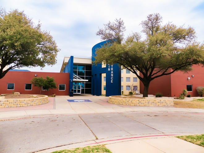 Lake View High School in San Angelo was completely rebuilt after an electrical transformer cause a blaze, which destroyed 60 percent of the campus on Sunday, May 17, 1998.