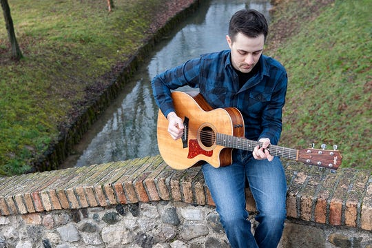 Singer, songwriter and guitarist Marco Vendrame is performing at the next Wood-Fired Wednesday at Rolling Ridge Event Center in St. Joseph.