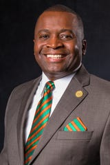 Col. Gregory Clark, president of the Florida A&M University National Alumni Association