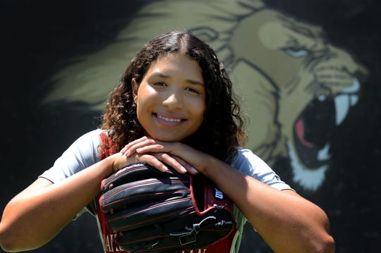 Maya Brady learned to handle the attention that comes with being the niece of Tom Brady and worked hard to become a superstar on the softball diamond for Oaks Christian.