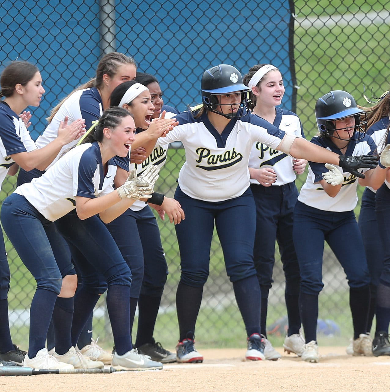 Softball: 10th-seeded Panas upsets second-seeded Hen Hud, embraces 'road warriors' title