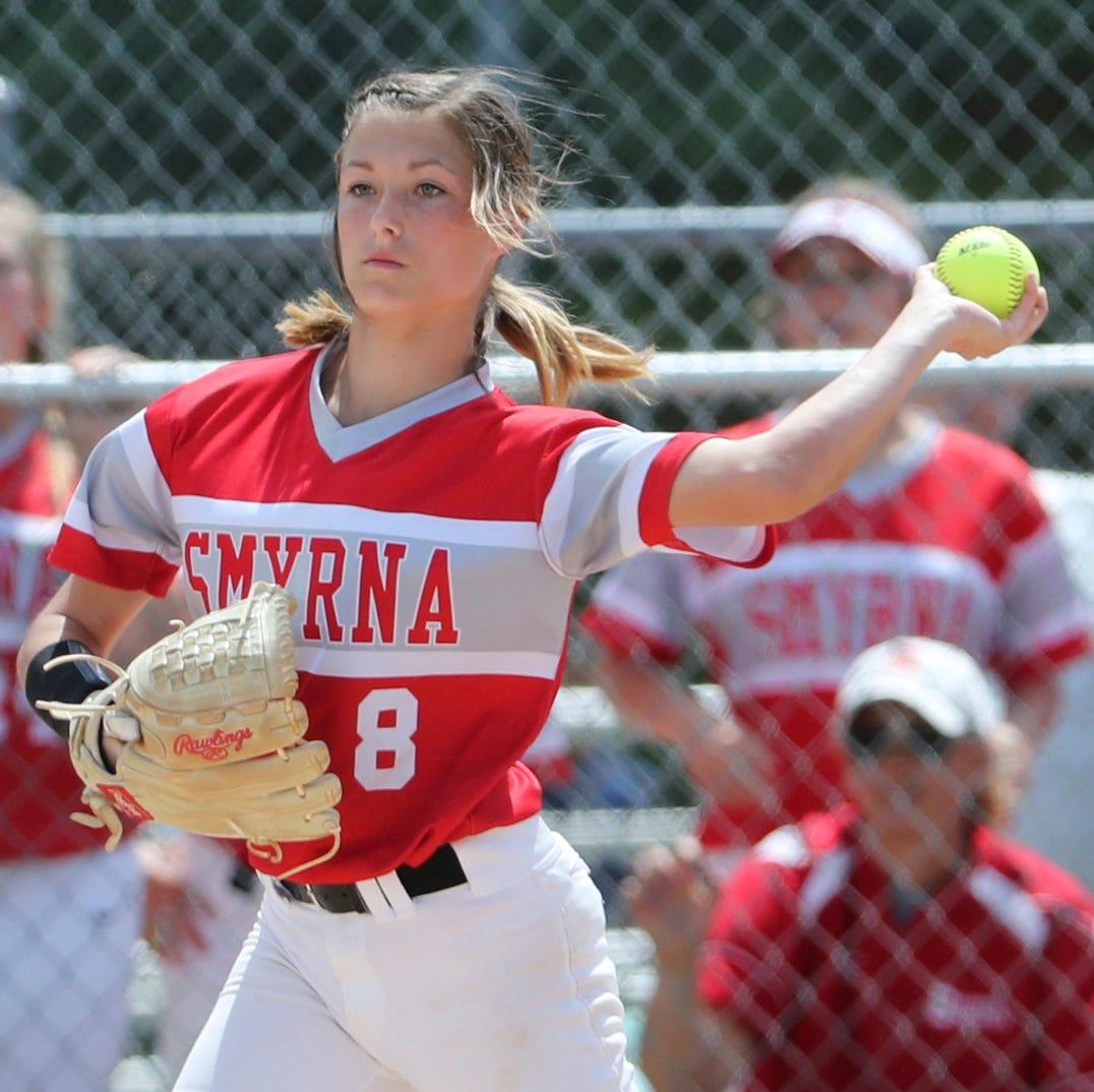 Smyrna nips Caravel to repeat as DIAA Softball champion