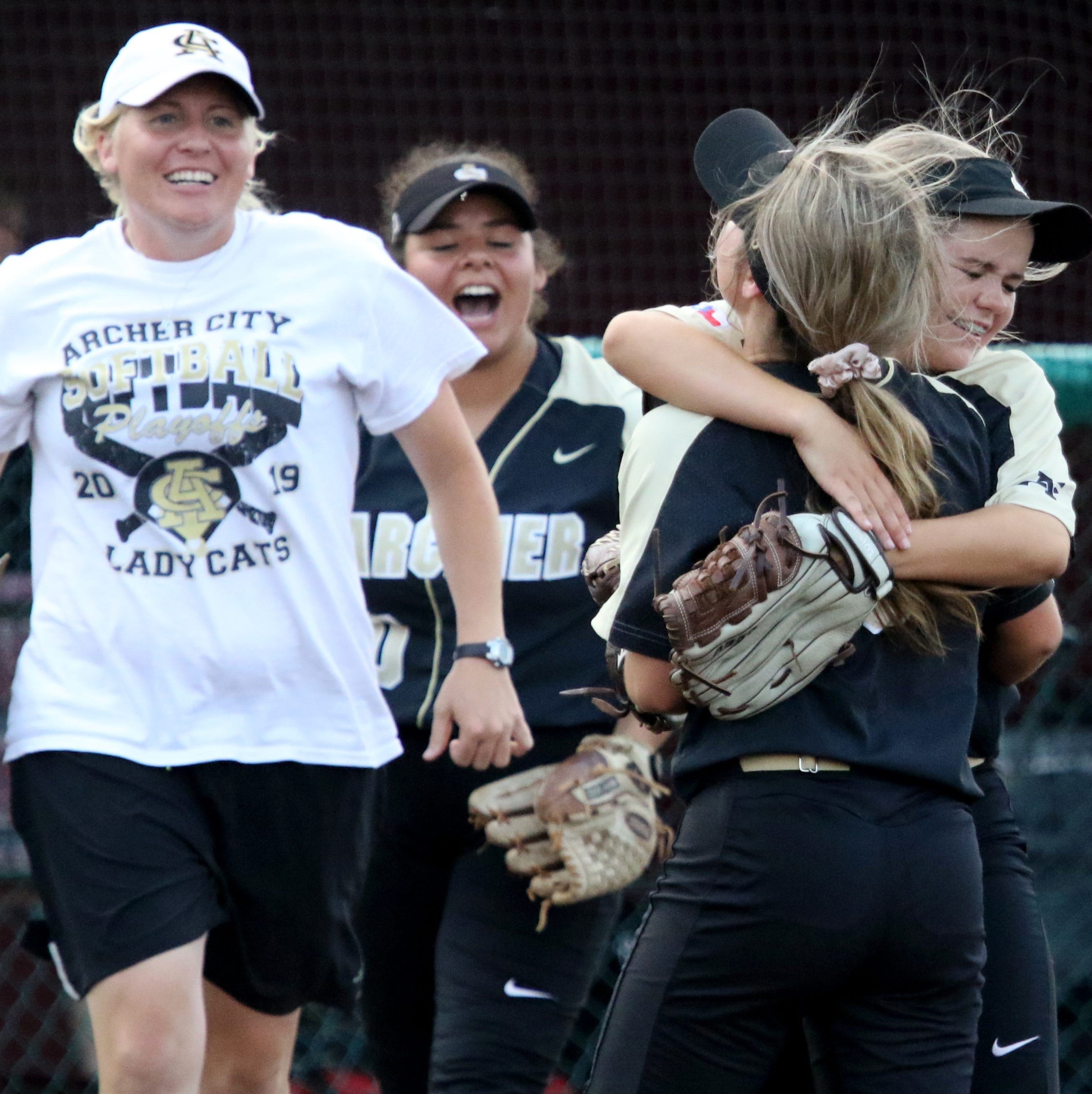 Archer City's Victoria Rater deserving of praise after gutsy performance vs. Windthorst