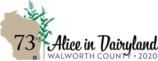 73rd Alice in Dairyland logo
