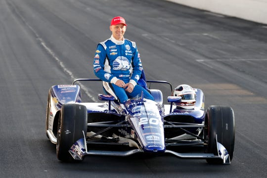 Ed Carpenter qualified second for the 2019 Indy 500 and will start in the middle of the front row.