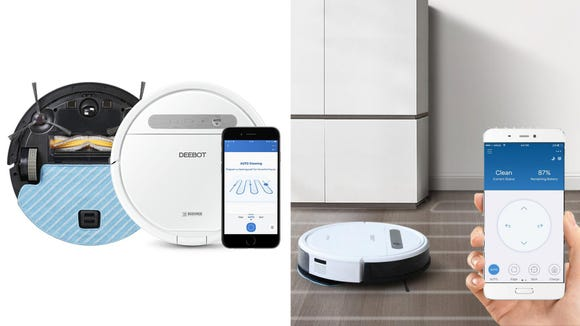 The Deebot Ozmo 610 can sweep and mop all your messes with ease.