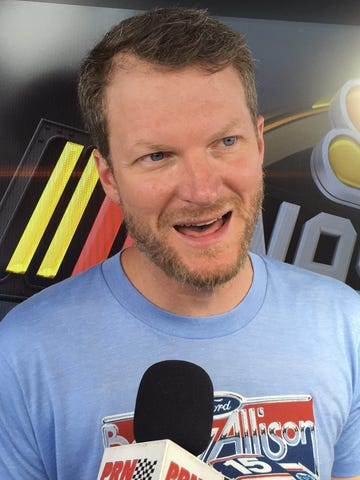 Dale Earnhardt Jr promo picture.