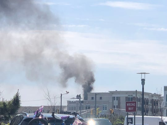 Asbury Park fire: two units at 300 Cookman Avenue burn
