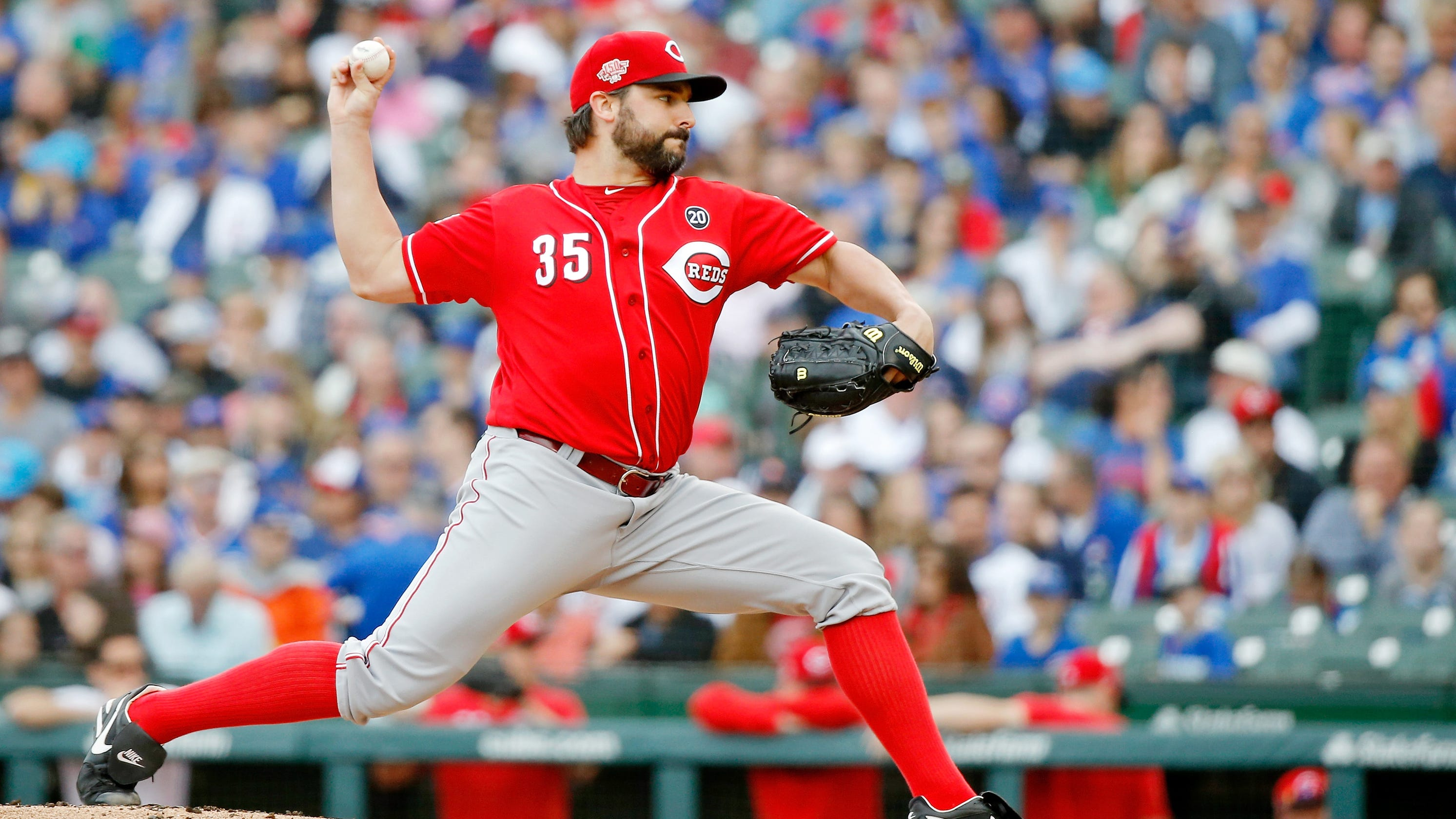 498fbfa1b Cincinnati Reds take second straight series from first-place Chicago Cubs  with 10-2 win