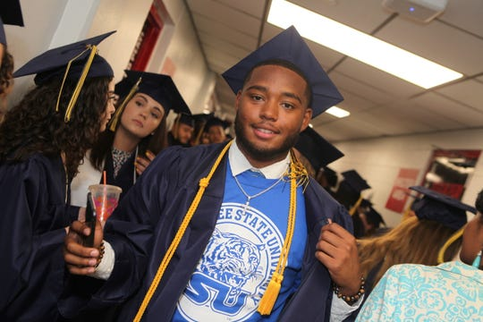 More than 350 students received diplomas at Northeast High School's Class of 2019 Commencement Ceremony on Saturday, May 25, 2019.