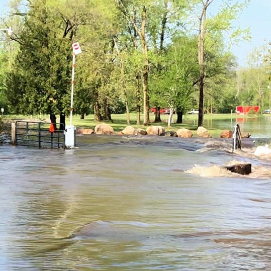 Frankenmuth, Vassar assessing damage, flooding issues after downpour