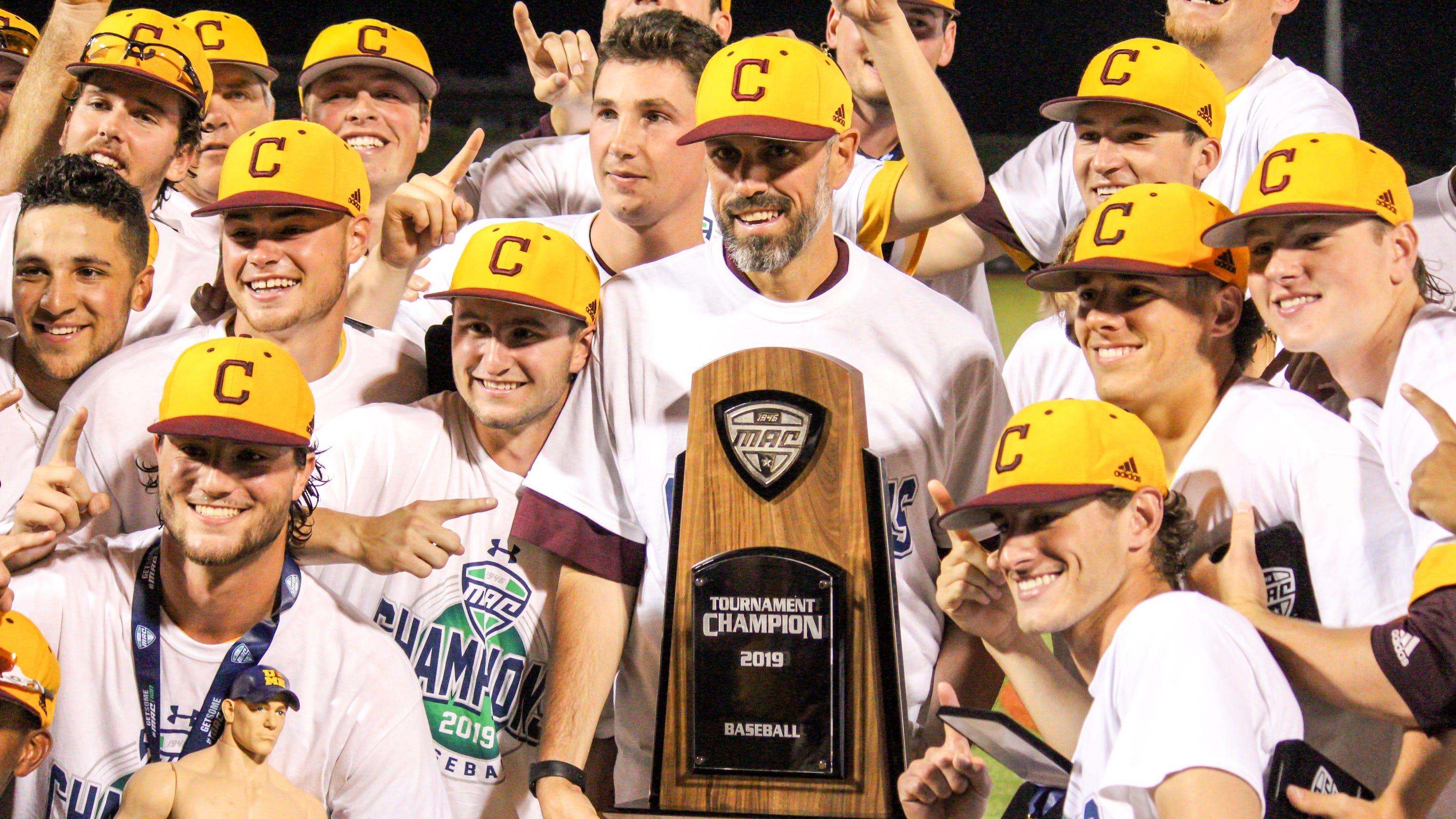 Sports Photography At Cmu: 'Bigger Than Anything Else': Michigan, CMU Baseball Gear