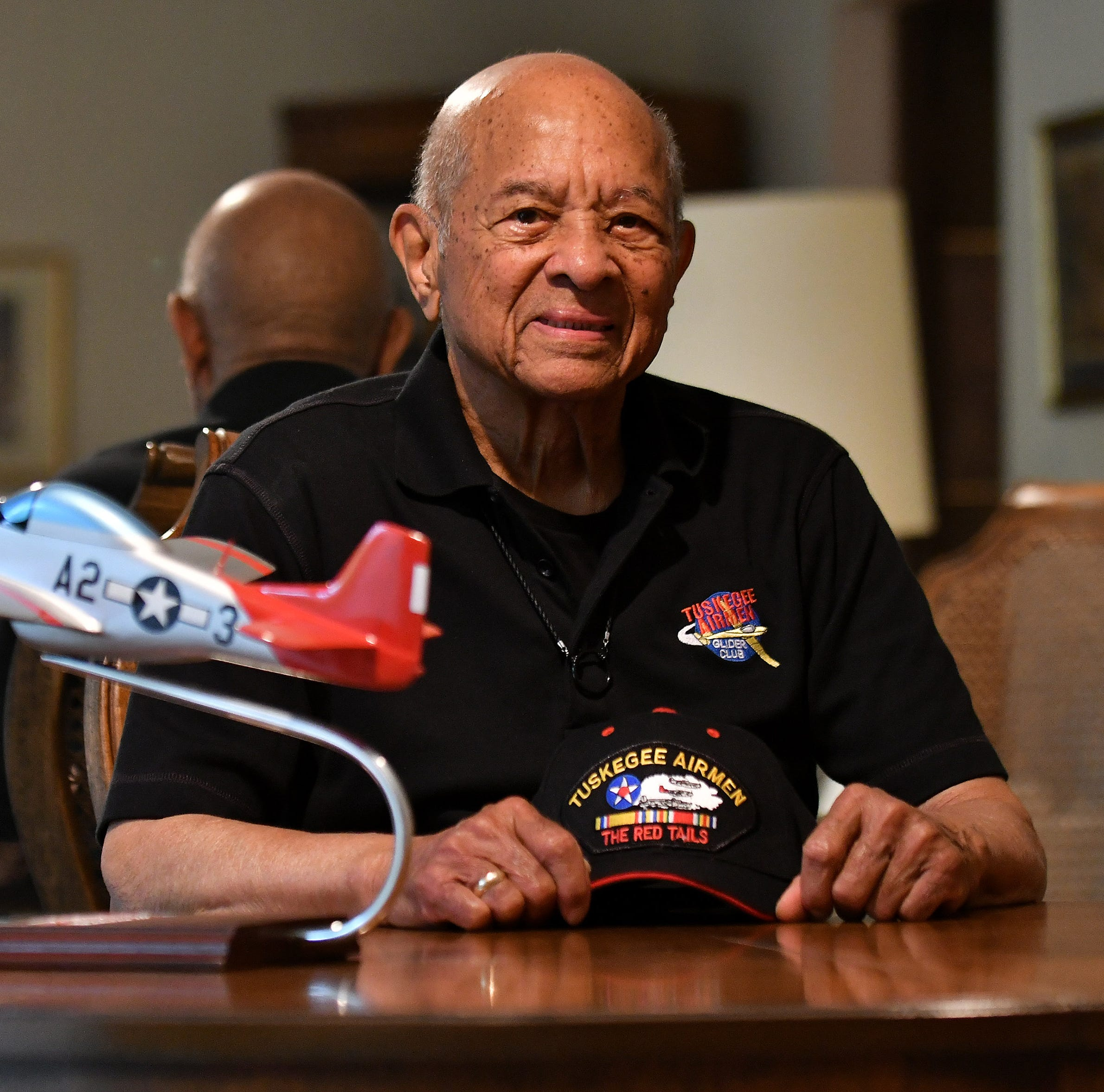 Tuskegee Airman recounts tales of segregation and valor for Memorial Day