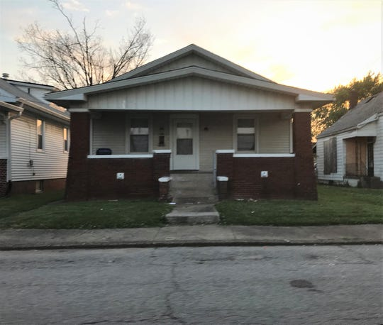 A house at 2012 North Fifth Avenue in Evansville, where three people where shot at a house party, Friday, May 24, 2019.