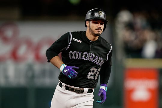 The Colorado Rockies host Arizona at 1:10 p.m. Monday.