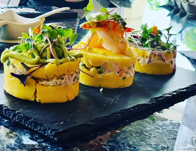 The Llama's House opened in mid-May at Miromar Outlets in Estero. The restaurant offers Peruvian and South American fare with modern twists.