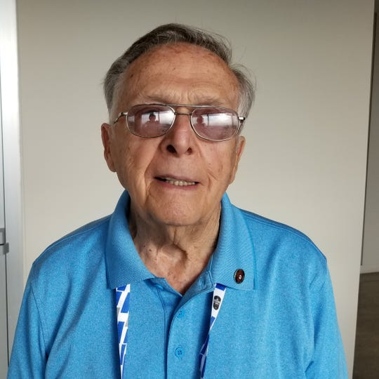 Bill Marvel, 89, is attending his 75th Indianapolis 500 on May 26, 2019.