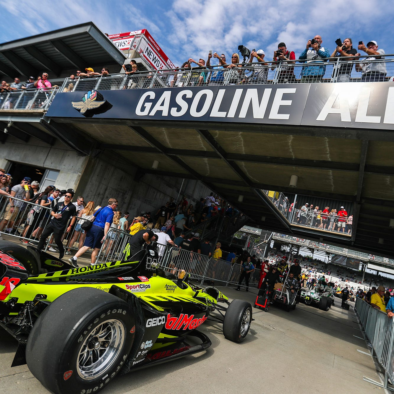 Indy 500 2019: Welcome to race day (we hope)