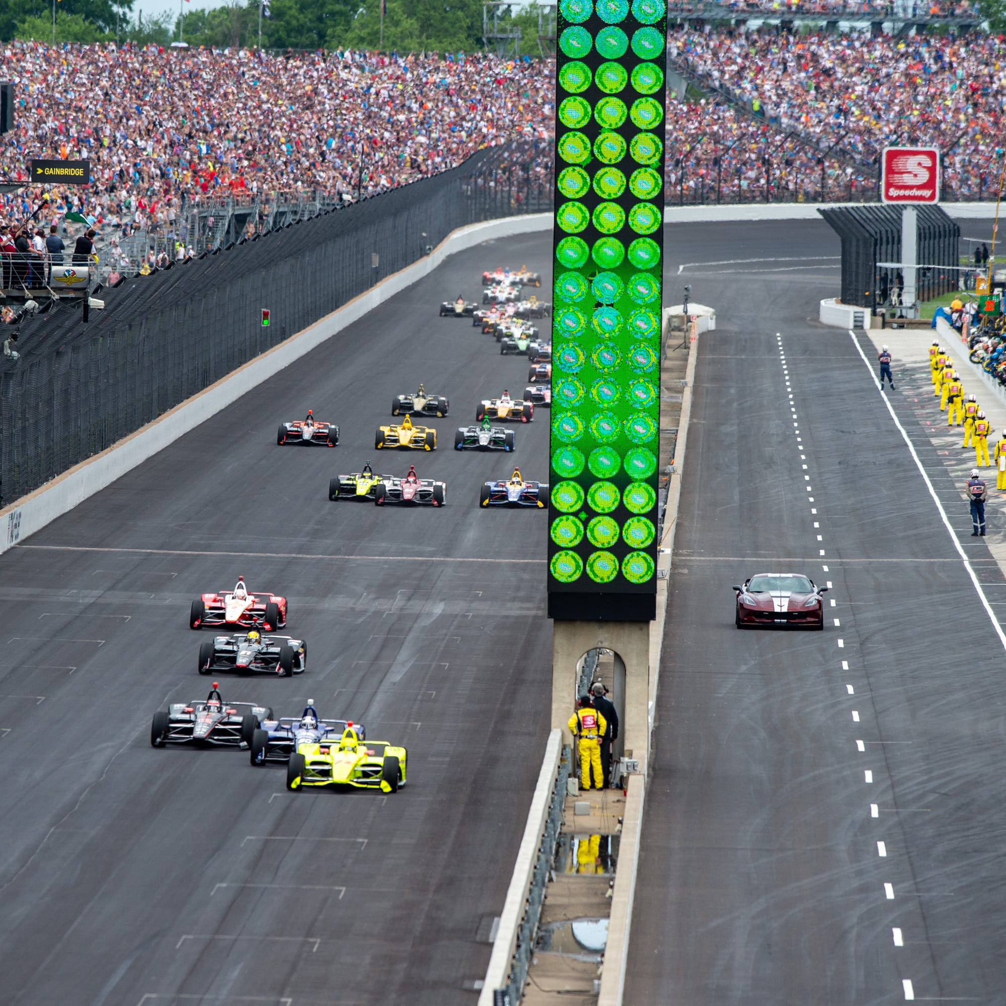 Here's what happened to the crew member who was injured during the Indy 500