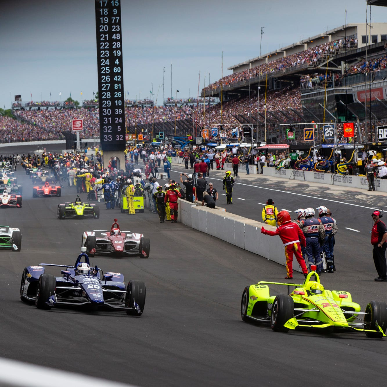 Indy 500 results: A summary of how each driver finished