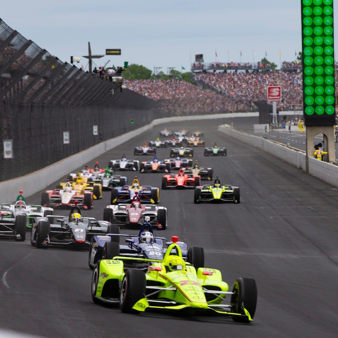 Indy 500 live blog updates: Last round of pit stops set up finish