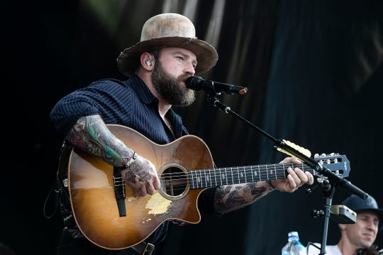 Racing fans gather at Indianapolis Motor Speedway to watch Zac Brown Band preform for Legends Day, May 25, 2019.