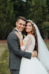 """Bringing Up Bates"" stars Carlin Bates and Evan Stewart got married Saturday, May 25, at Castleton Farms in Loudon."