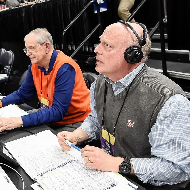 Auburn radio voice Rod Bramblett, wife Paula, die after car wreck