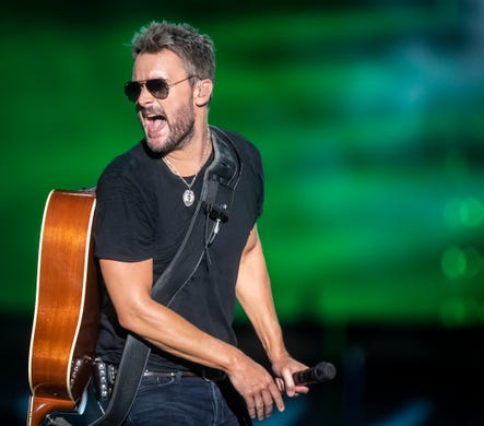 Eric Church in Nashville: Country star delivers record-breaking concert