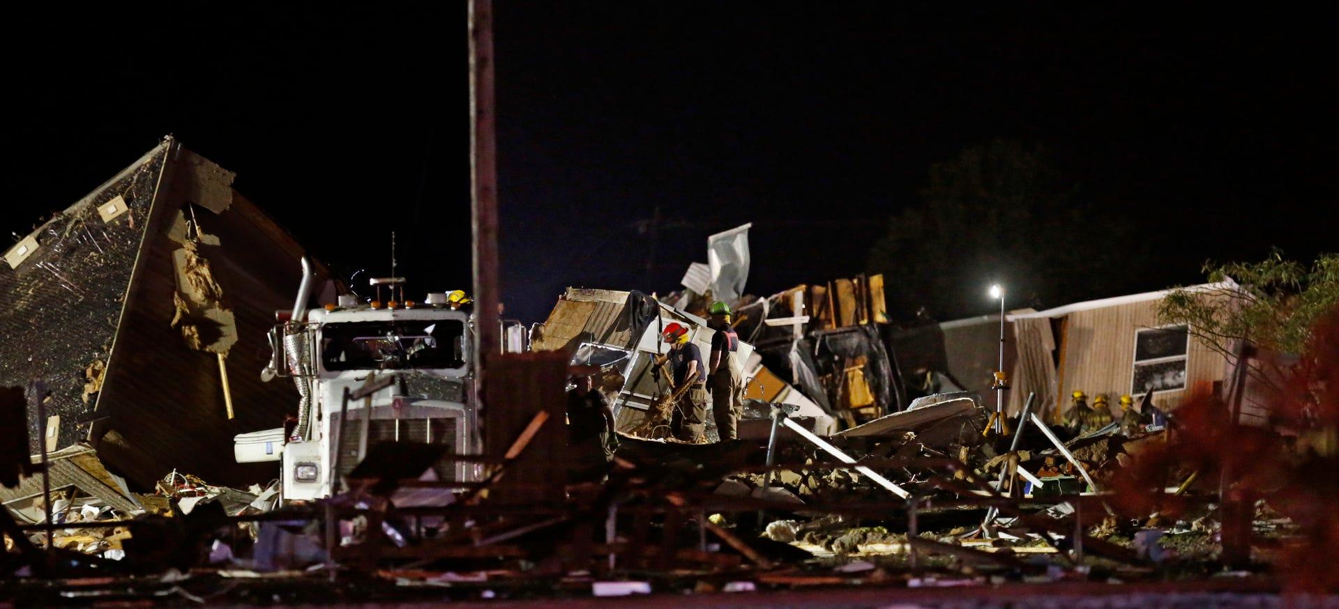 El Reno Oklahoma >> El Reno Oklahoma Tornado Images Of Damage Including