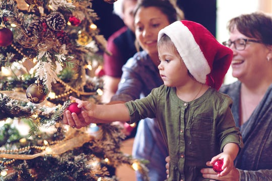 If you have grown children who have their own trees, send them a few ornaments, so they can share their childhood memories and traditions with their own children.