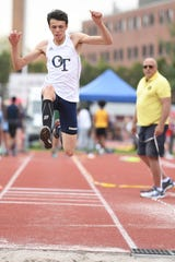 Chris Jost, who vaults for NV/Old Tappan, cleared 12 feet at the North 1, Group 3 state sectional and helped lead his team to the title.