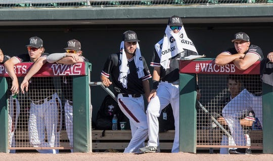 The New Mexico State baseball team lost to Sacramento State in the WAC Tournament in Mesa, Arizona on Saturday to end the Aggies' season.