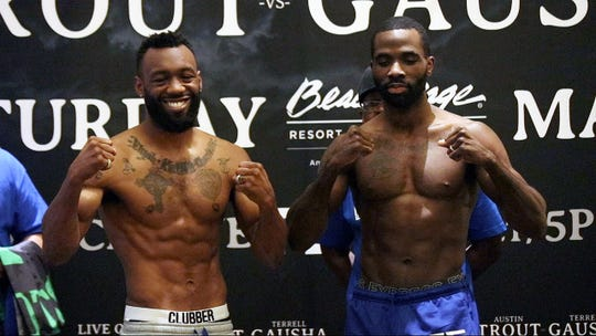 Las Cruces boxer Austin Trout, fought to a split draw on Saturday night against Terrell Gausha.