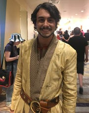 Blake King-Krueger as Oberyn Martell at Phoenix Fan Fusion, March 25, 2019.