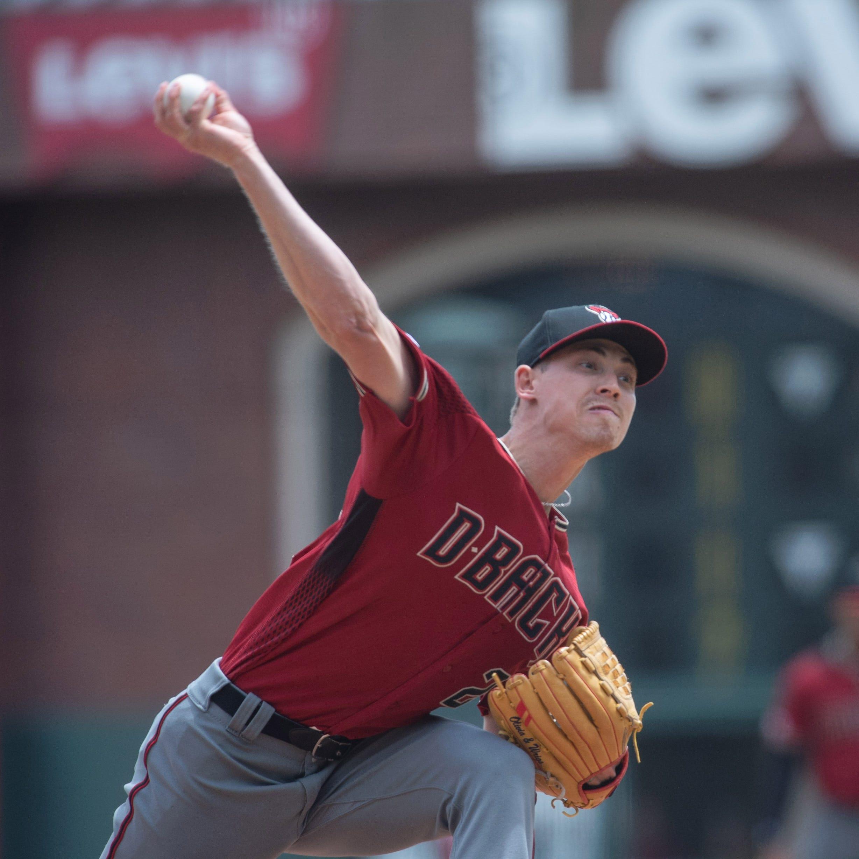 Diamondbacks sweep Giants, but Luke Weaver leaves start with right forearm tightness