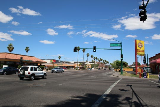A man was critically injured after being shot by police near 35th Avenue and Camelback Road on May 26, 2019.