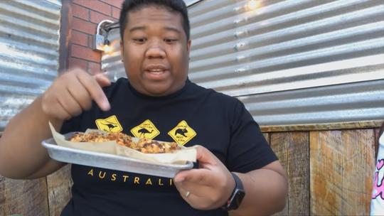 Kieu Tran reviews food at The Duce
