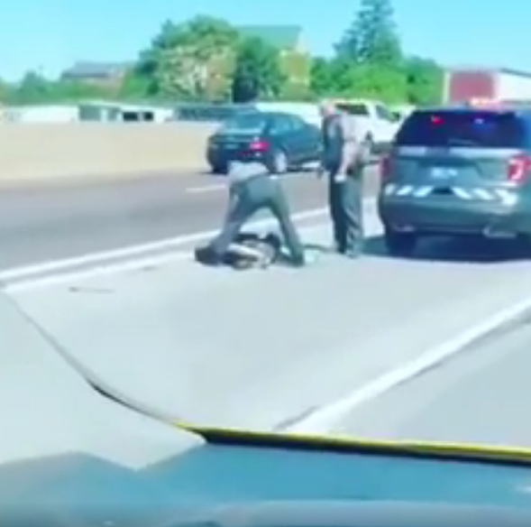 WATCH: State trooper shoots machete-wielding man on I-83