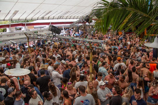 Thousands gathered at Seacrets to have a great time Saturday.