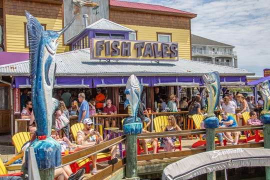 Fish Tales in Ocean City is packed with Memorial Day crowds in this file photo.