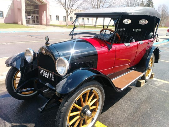 The 1919 Pan Car is shined up and ready for its moment in the spotlight when it visits Pantown Brewing Co. on Wednesday, May 29.