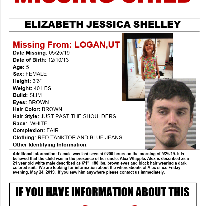 Authorities continue search for missing Logan girl