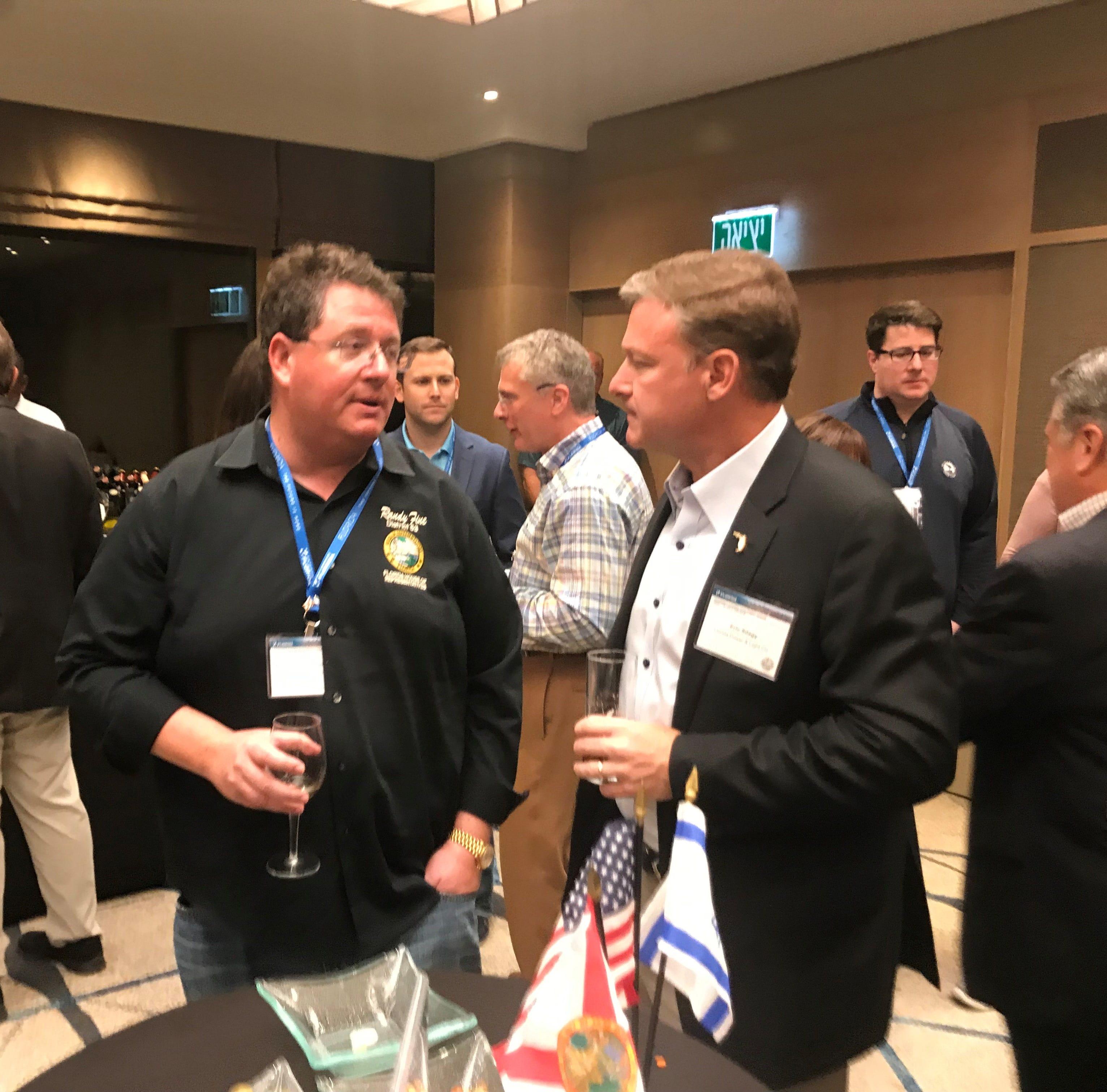 Economics intersect politics as Florida delegation arrives in Israel
