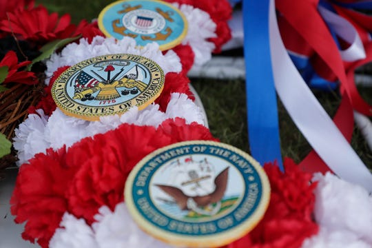 The Tallahassee National Cemetery hosts a Memorial Day Program for the community to come and honor the veterans who have been laid to rest over the years Sunday, May 26, 2019.