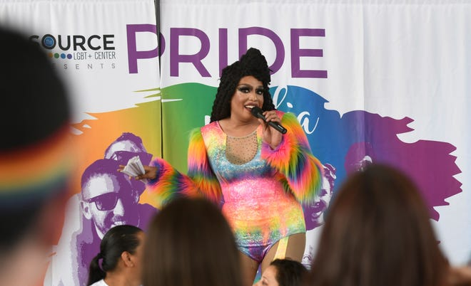 The Source LGBT+ Center hosted its third annual Pride Visalia in downtown on Saturday, May 25, 2019.