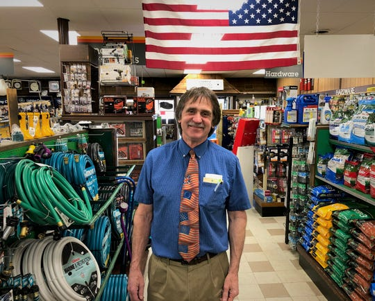 Art Pleasanton stands in his store on Concord Pike. He'll soon enter retirement after more than 40 years at Fairfax Hardware.