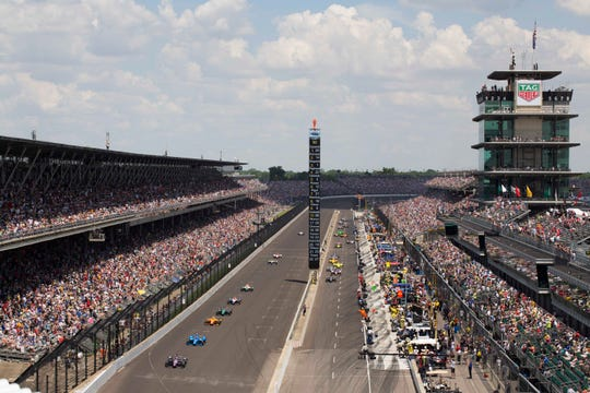 This will be the 103rd running of the Indianapolis 500.