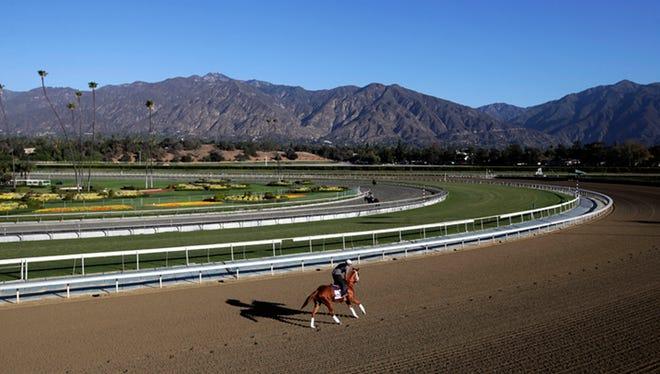 Santa Anita Park in 2013.