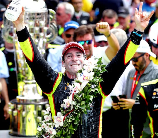 Simon Pagenaud dominates, holds off Alexander Rossi to score first Indianapolis 500 win